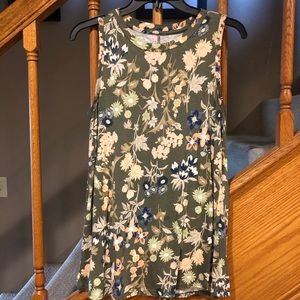 Maurices floral height neck tank.
